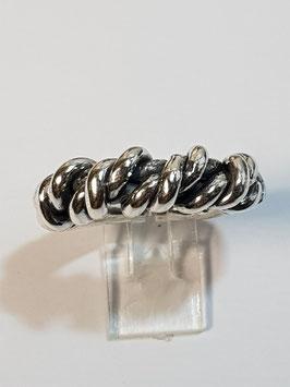 Anel em prata fios torcidos - ARK