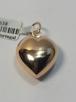 Coração ouro 11.7 - MM
