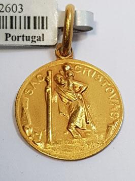 Medalha São Cristóvão - Escultor