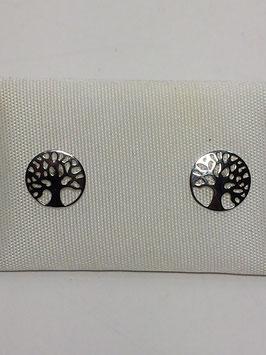 Brincos prata árvore da vida - RR