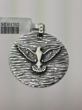 Medalha Espirito Santo Rugosa 28 - JCC