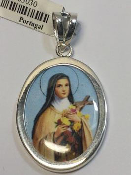 Medalha Santa Teresa - Esmalte
