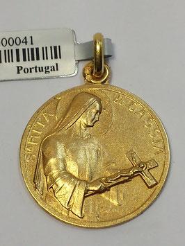 Medalha Santa Rita de Cássia - Escultor