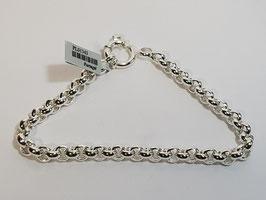 Pulseira prata de cordão fino forrado - PP/PS243.07