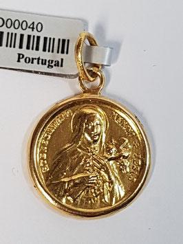 Medalha Santa Teresinha -PT