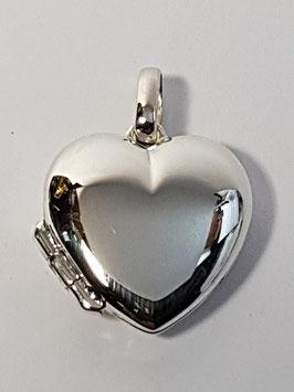 Medalha coração abrir liso 18 - BL342 PP