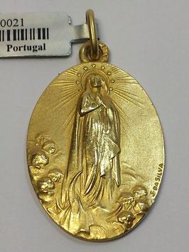 Medalha Nossa Senhora da Conceição - Escultor João da Silva