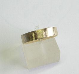 Aliança ouro quadrada amendoada 5.1 - 255