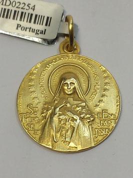 Medalha Santa Teresinha - Escultor João da Silva
