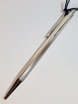 Caneta esferográfica prata Waldmann Eco - Espinha - W0002/REA