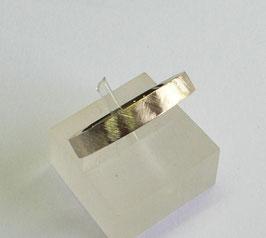 Aliança ouro quadrada amendoada 3.6 - 235