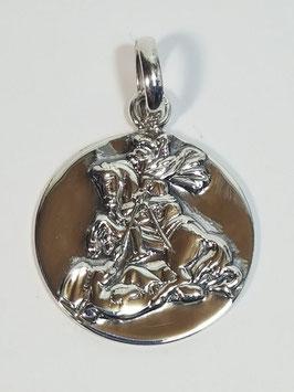 Medalha São Jorge - 20 oração - PP