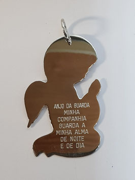 Anjo de Berço de Joelhos Oração - JCC
