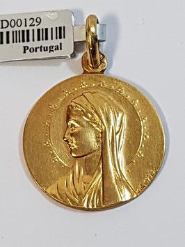 Medalha Nossa Senhora de Perfil - Escultor