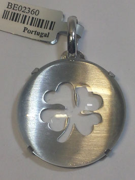 Medalha em prata trevo 35.25