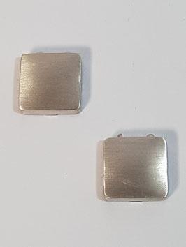 Capa de Botão Quadrada Escovada ou Polida - RR