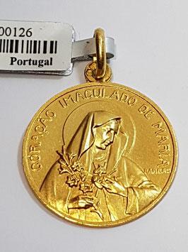 Medalha Coração Imaculado de Maria - Escultor