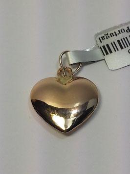 Coração ouro 12,5.3,5