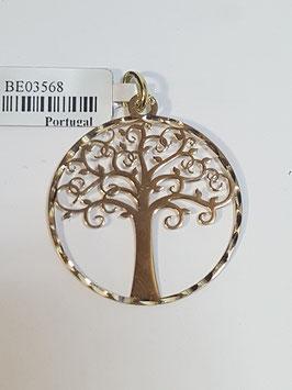 Berloque medalha Árvore da Vida 25 - MM