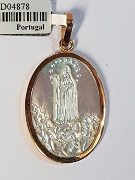 Medalha Nossa Senhora de Fátima - Madre Pérola
