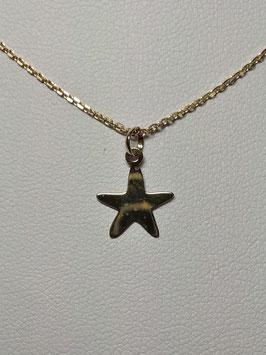 Fio Ouro 9kts com estrela