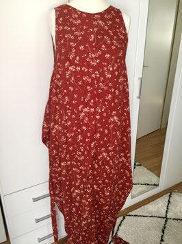 Kleid mit Bindeband aus Viskose Größe 39/40