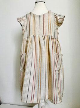 Kleid aus Viskoseleinen Größe 110