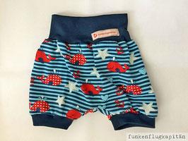 kurze Shorts, Bloomers aus Jersey