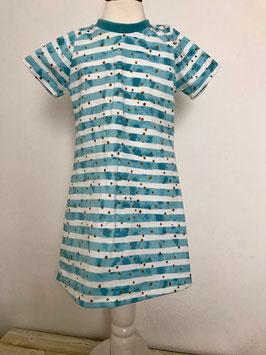 Kleid mit kurzen Ärmeln aus Jersey