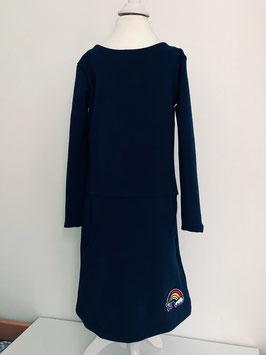 Kleid aus Sweatstoff Größe 116