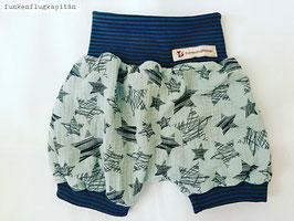 kurze Shorts, Bloomers aus Musselin