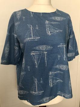 Bluse aus Viskoseleinen Größe 40