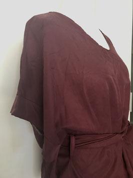 Bluse mit V-Ausschnitt Größe 40