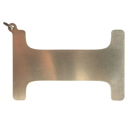 Schlüsselanhänger I-Form für A&K MINI