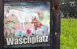 Reiterhofschild Aluverbund