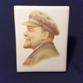 Porträt von Lenin, Keramik