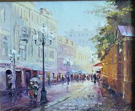 "Bild ""Moskauer Regen"""