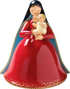 WENDT & KÜHN    Madonna mit Christkind, einfach bemalt