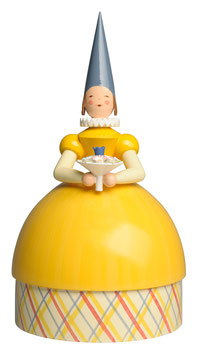 WENDT & KÜHN   Knauldame Prinzessin, gelbes Kleid