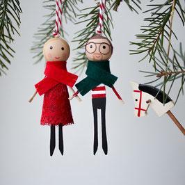 WeihnachtsMINIS - Anhänger individuell