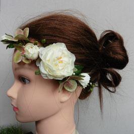 Haarband englische Gartenrose