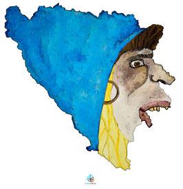 "Licence d'utilisation de l'image ""Bosnie-herzégovine"" SIDHERIA"
