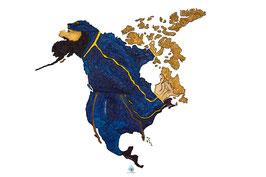 """Licence d'utilisation de l'image """"Amérique du Nord"""" SIDHERIA"""