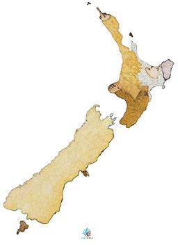 """Licence d'utilisation de l'image """"Nouvelle-Zélande"""" SIDHERIA"""