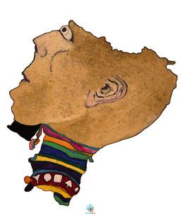 "Licence d'utilisation de l'image ""Equateur"" SIDHERIA"