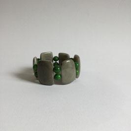 """Armband """"Natural Green""""   Tagua"""