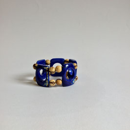 "Armband ""Natural Blue ""   Tagua"
