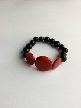 """Armband """" Manabi """"   Variation Tagua und Acai"""