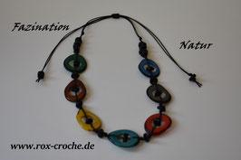 Tagua Halskette  Colorido