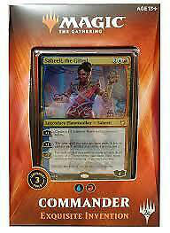 Magic Erlesene Erfindung Commander Deck 2018 (deutsch) - Commander Deck 2018